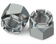 Hex Slotted Nuts