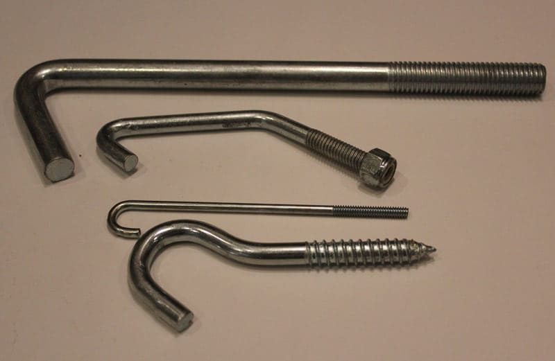 round eye screw hooks