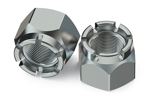 Stainless Steel Hex Slotted Hex Nuts